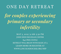 One-day retreat for couples experiencing infertility