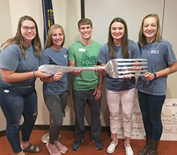 School wins fifth consecutive food drive contest