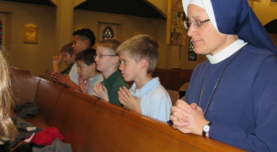 5 Praying Before Mass